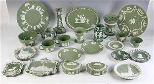 Collection of Jasperware Pottery
