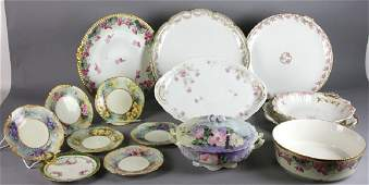 Collection of Limoges Porcelains