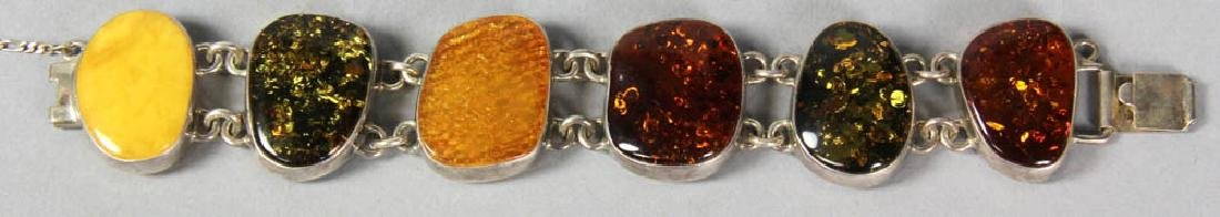 Amber Bead Necklaces and Bracelets - 4