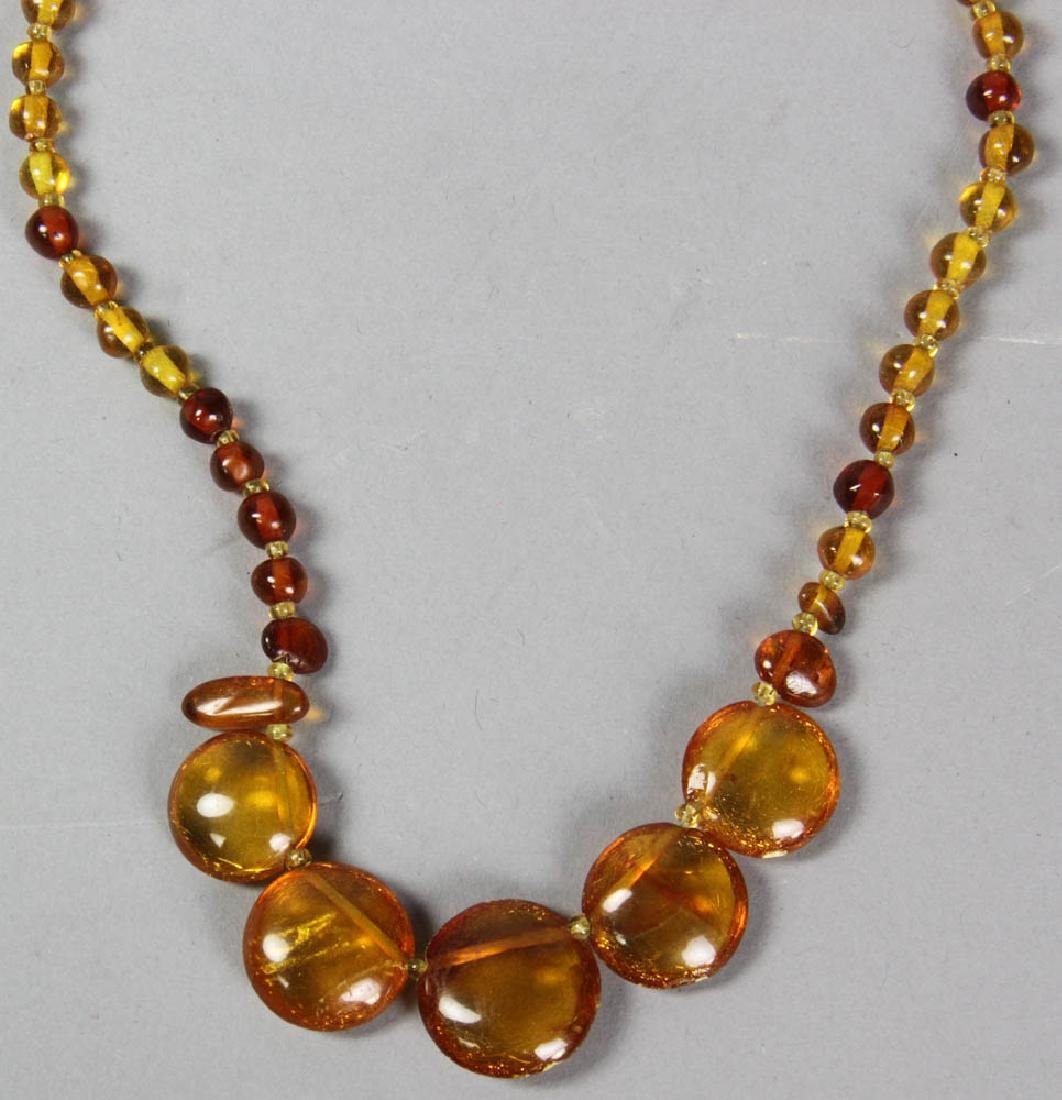Amber Bead Necklaces and Bracelets - 7