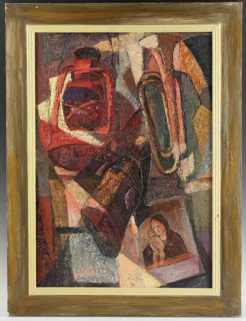 Jelinek Abstract Oil on Canvas