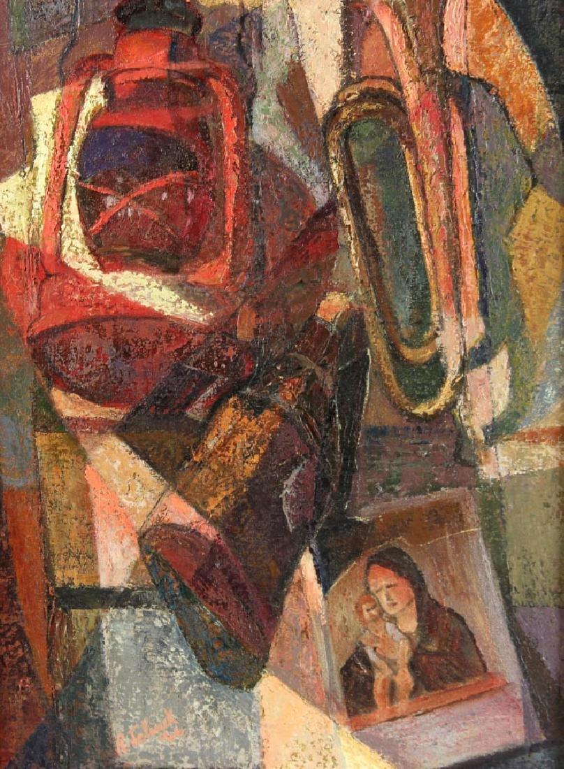 Jelinek Abstract Oil on Canvas - 2