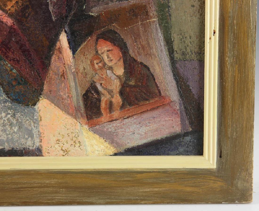Jelinek Abstract Oil on Canvas - 3