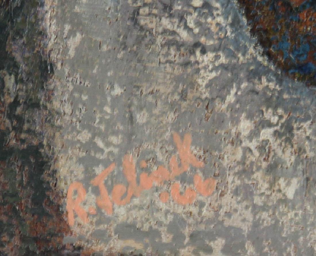 Jelinek Abstract Oil on Canvas - 4