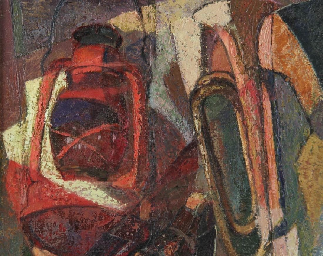 Jelinek Abstract Oil on Canvas - 5