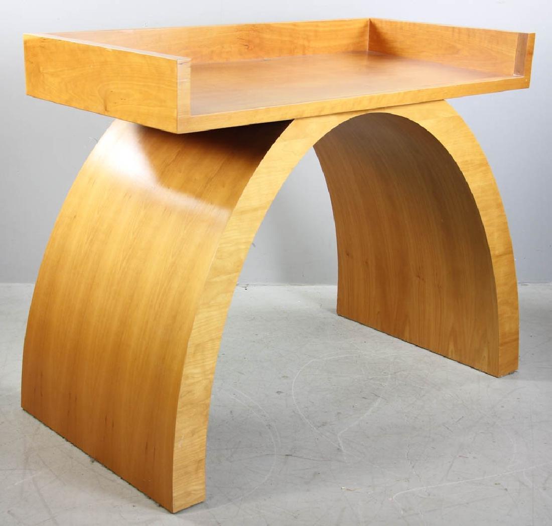 Solid Cherry Mid Century Desk - 2