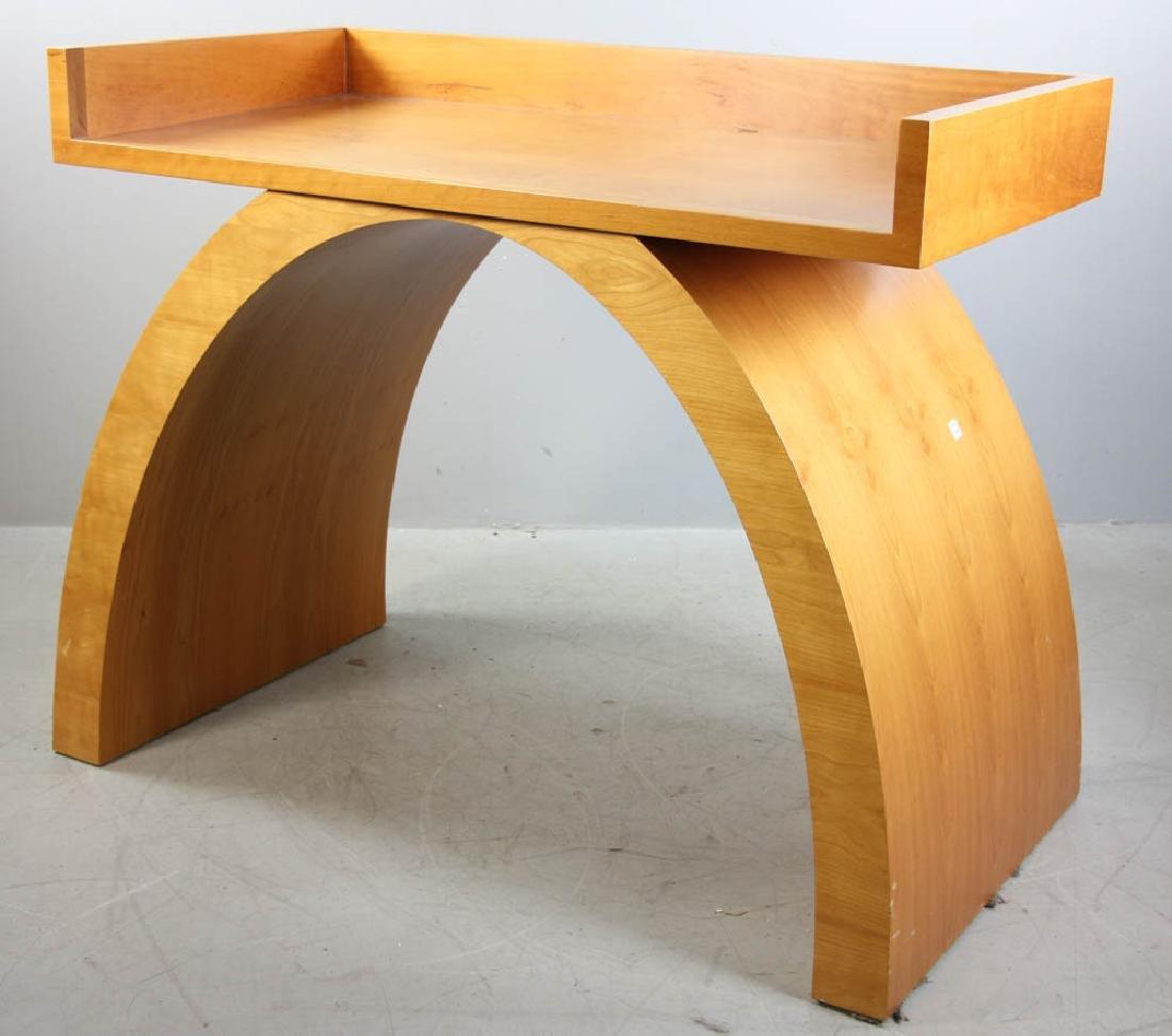 Solid Cherry Mid Century Desk - 3