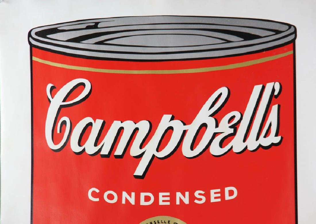 Andy Warhol Campbell's Beef Consommé Soup Screen Print - 5