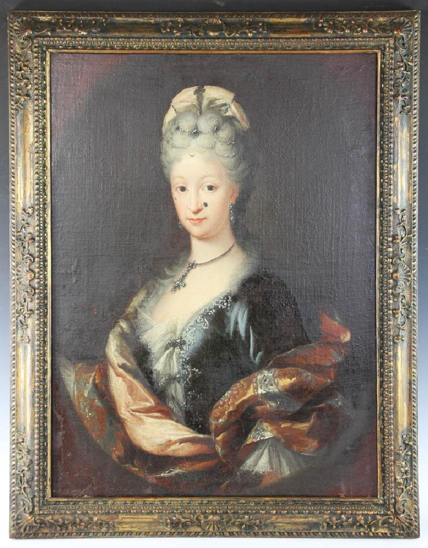 19thC Portrait of Distinguished Lady
