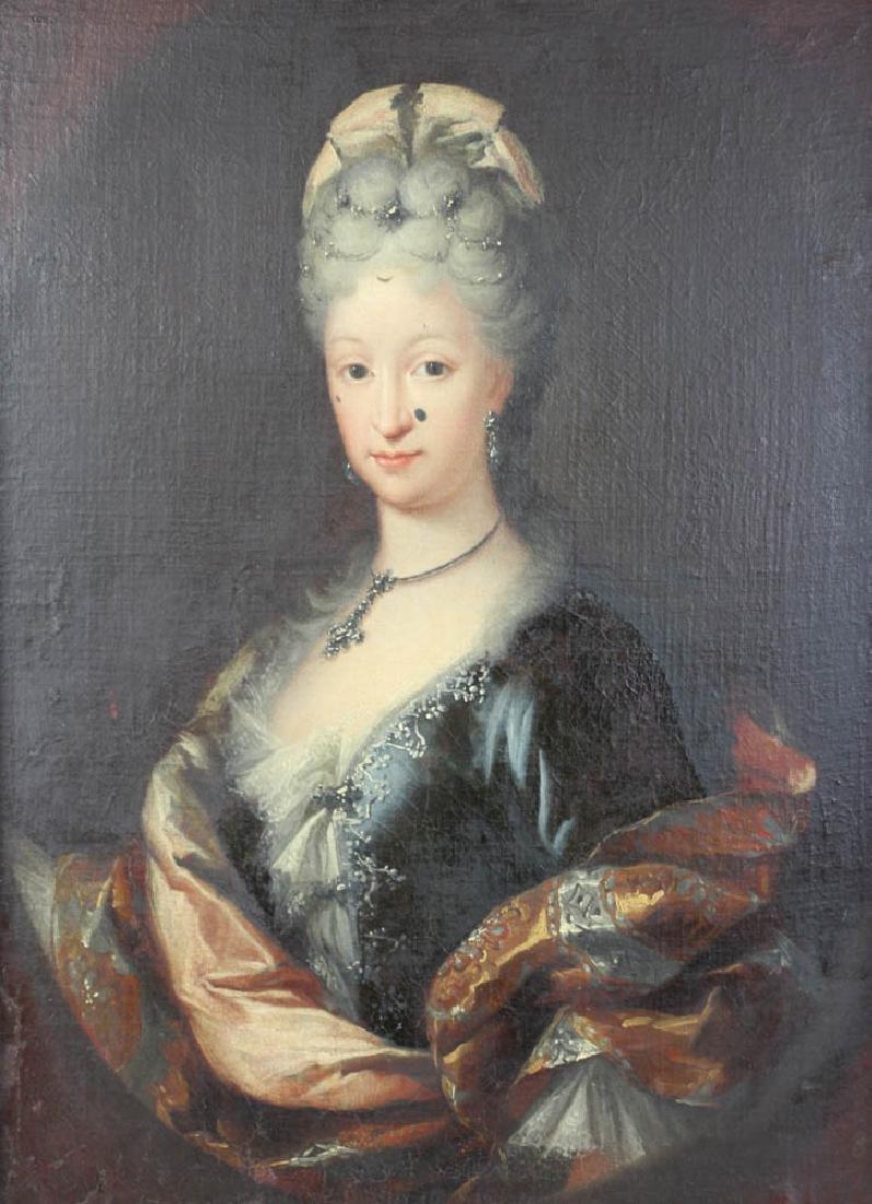 19thC Portrait of Distinguished Lady - 2