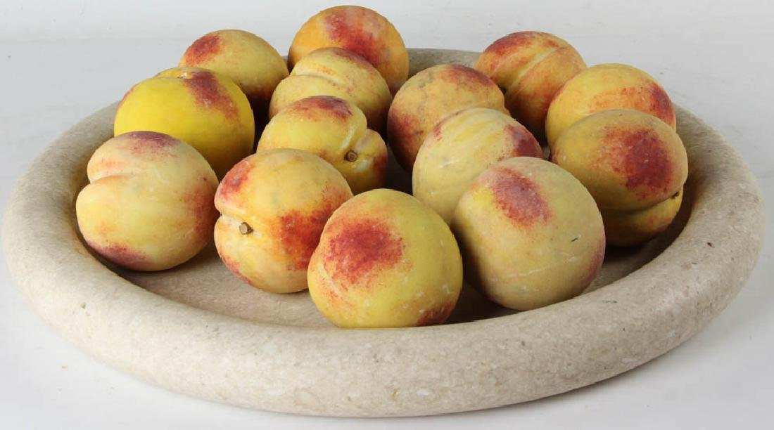 Marble Tray with Italian Stone Fruit - 3