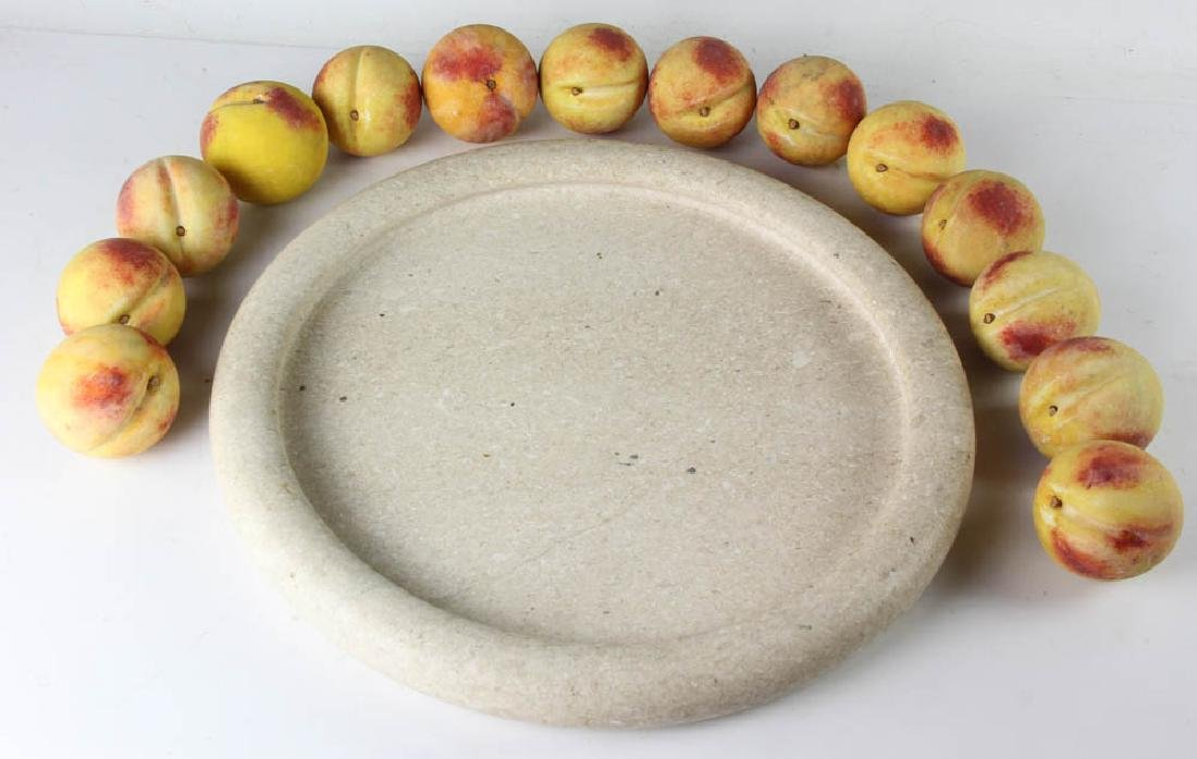 Marble Tray with Italian Stone Fruit - 5
