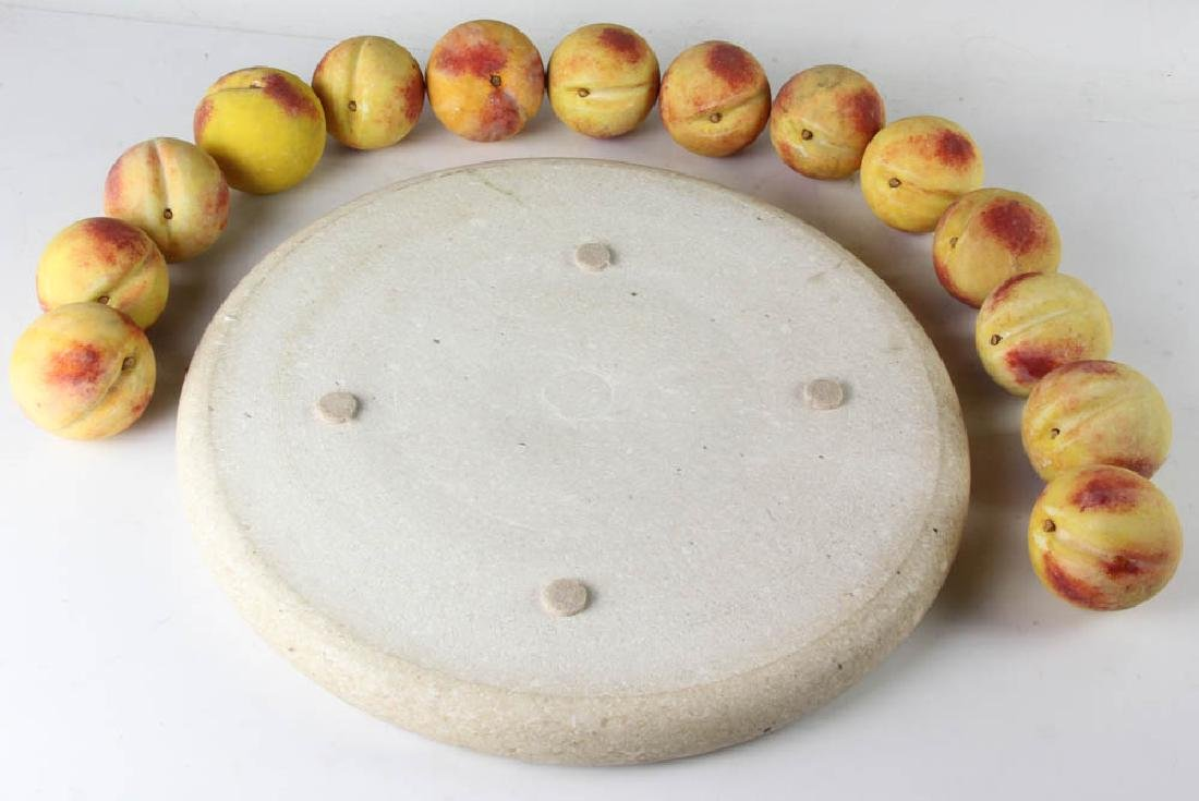 Marble Tray with Italian Stone Fruit - 6