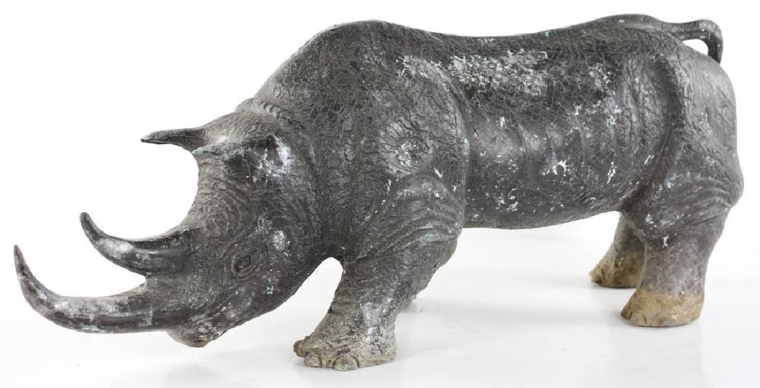 Bronze Figure of Rhinoceros