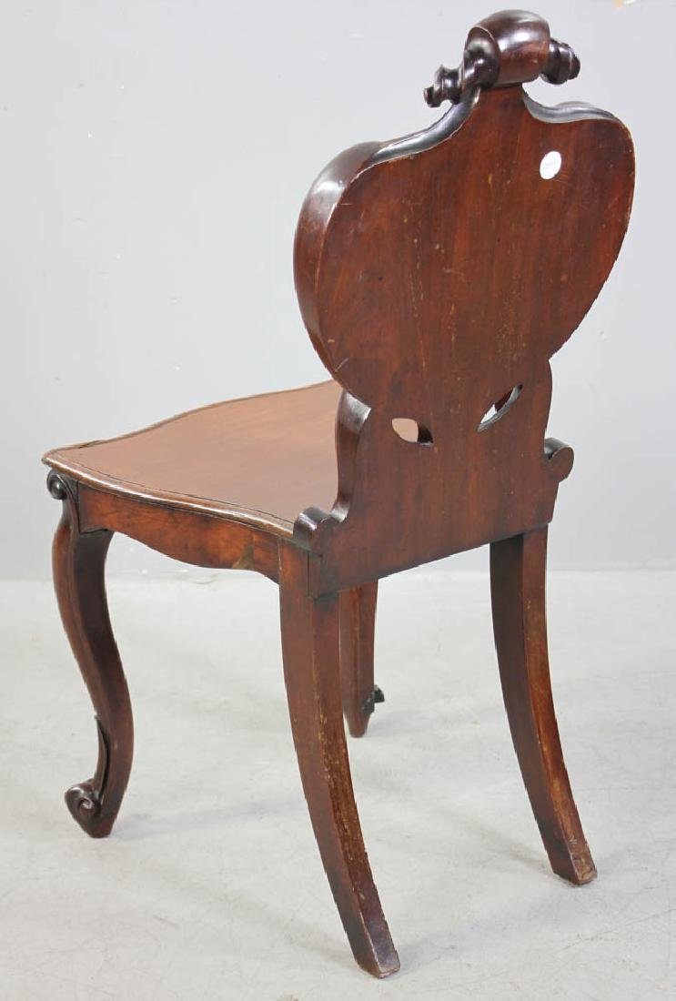 Antique Chair with Stand and Table - 8