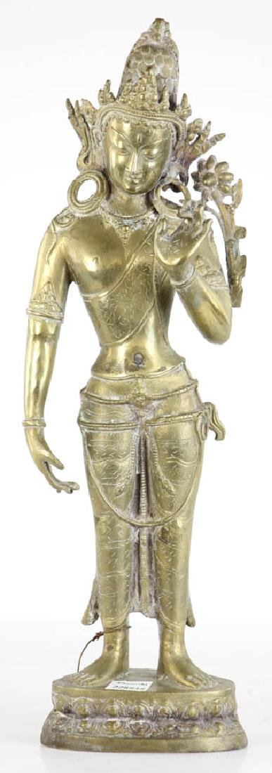 Bronze Quan Yang Figure