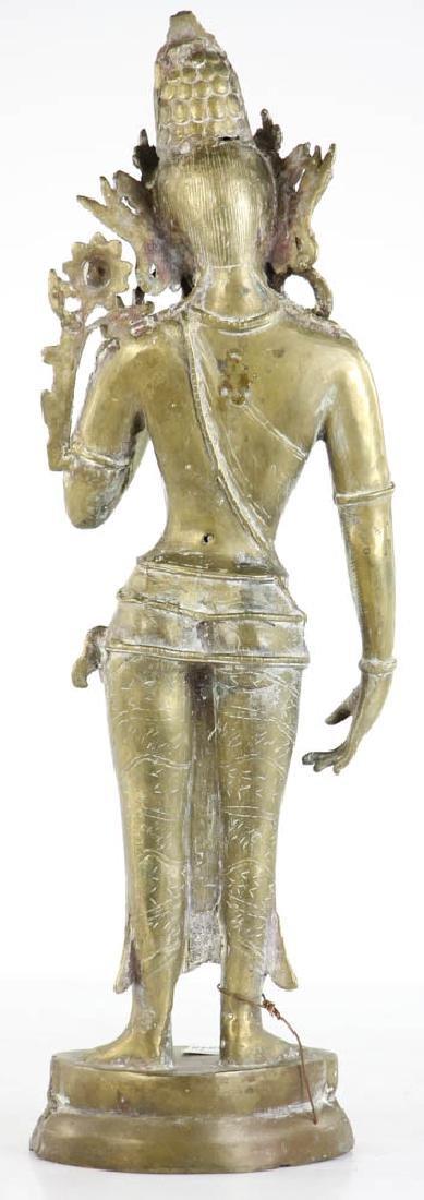 Bronze Quan Yang Figure - 3