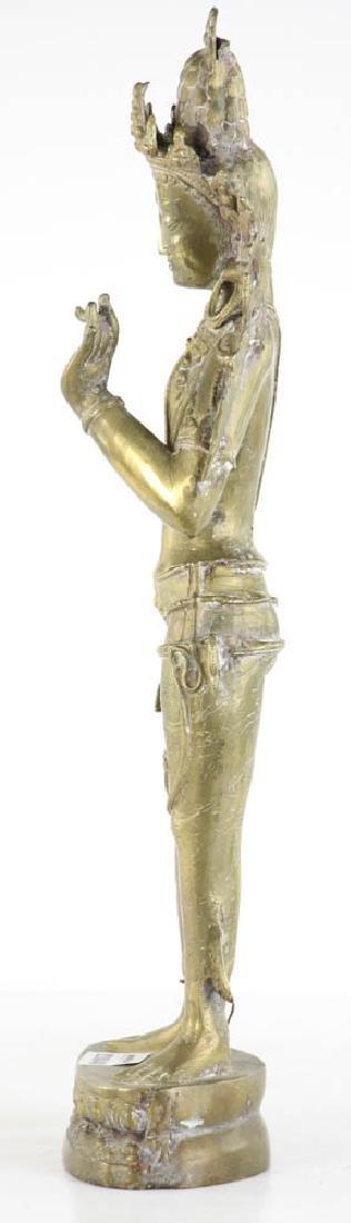 Bronze Quan Yang Figure - 4