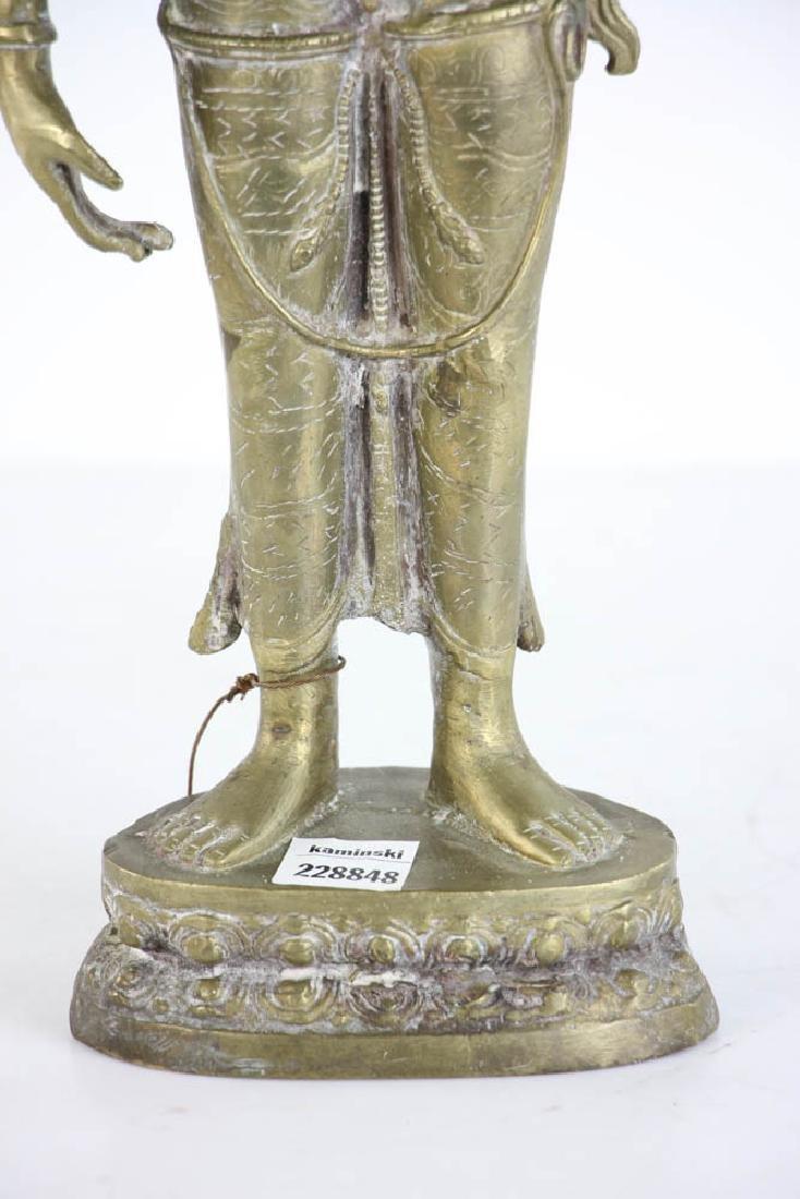Bronze Quan Yang Figure - 5