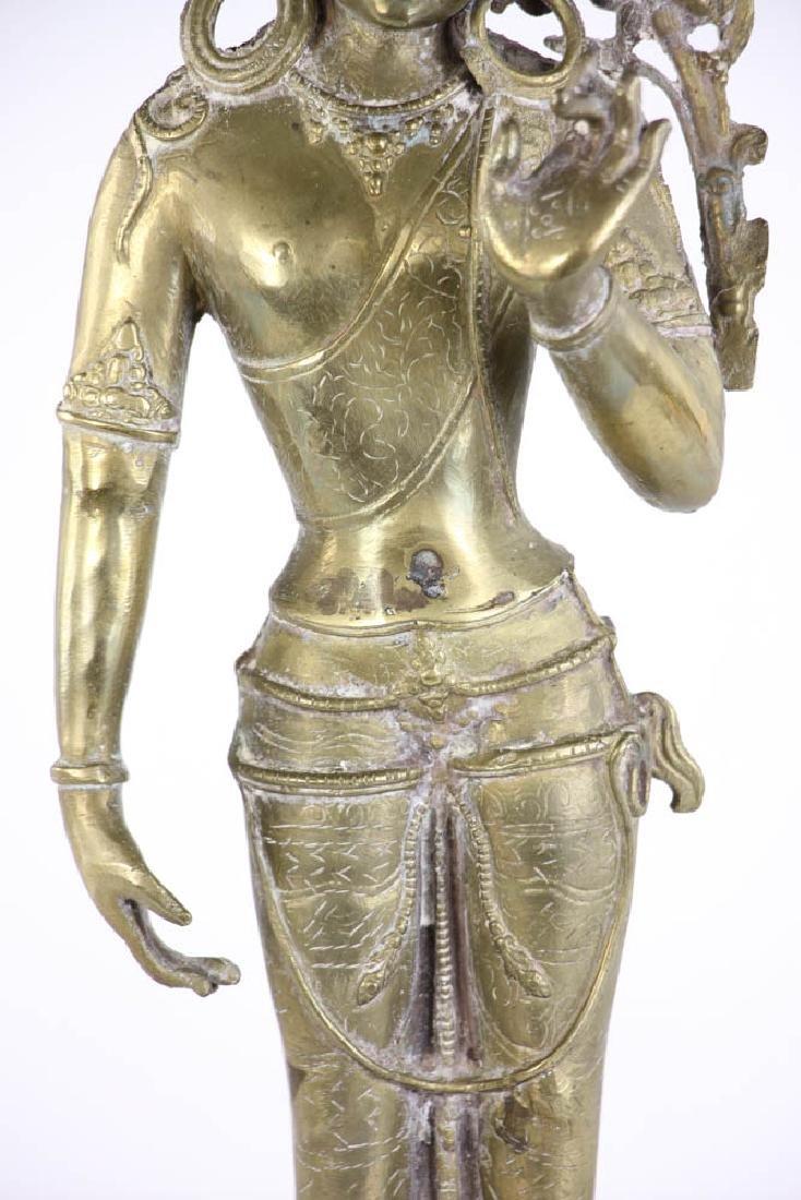 Bronze Quan Yang Figure - 6