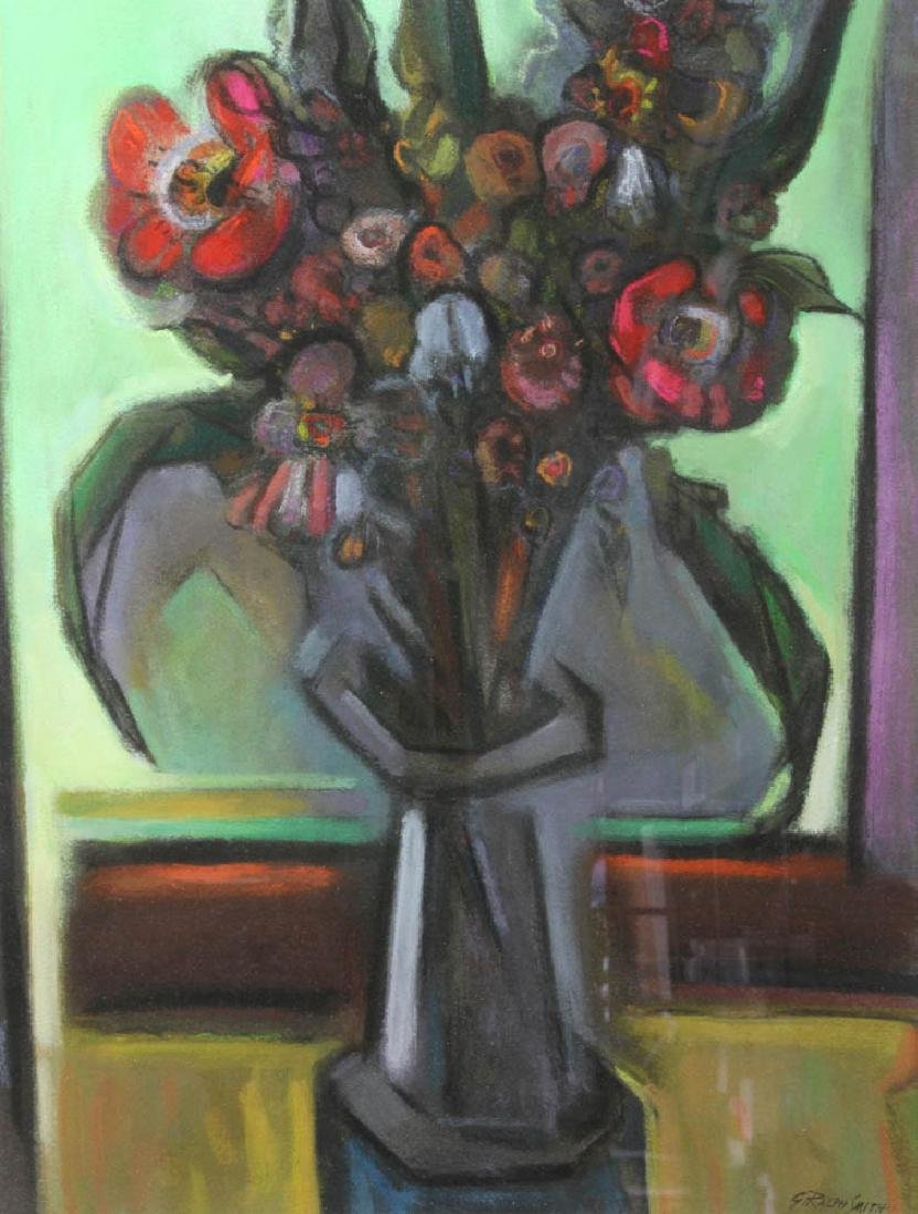 G Ralph Smith Watercolor Still Life Flowers - 2