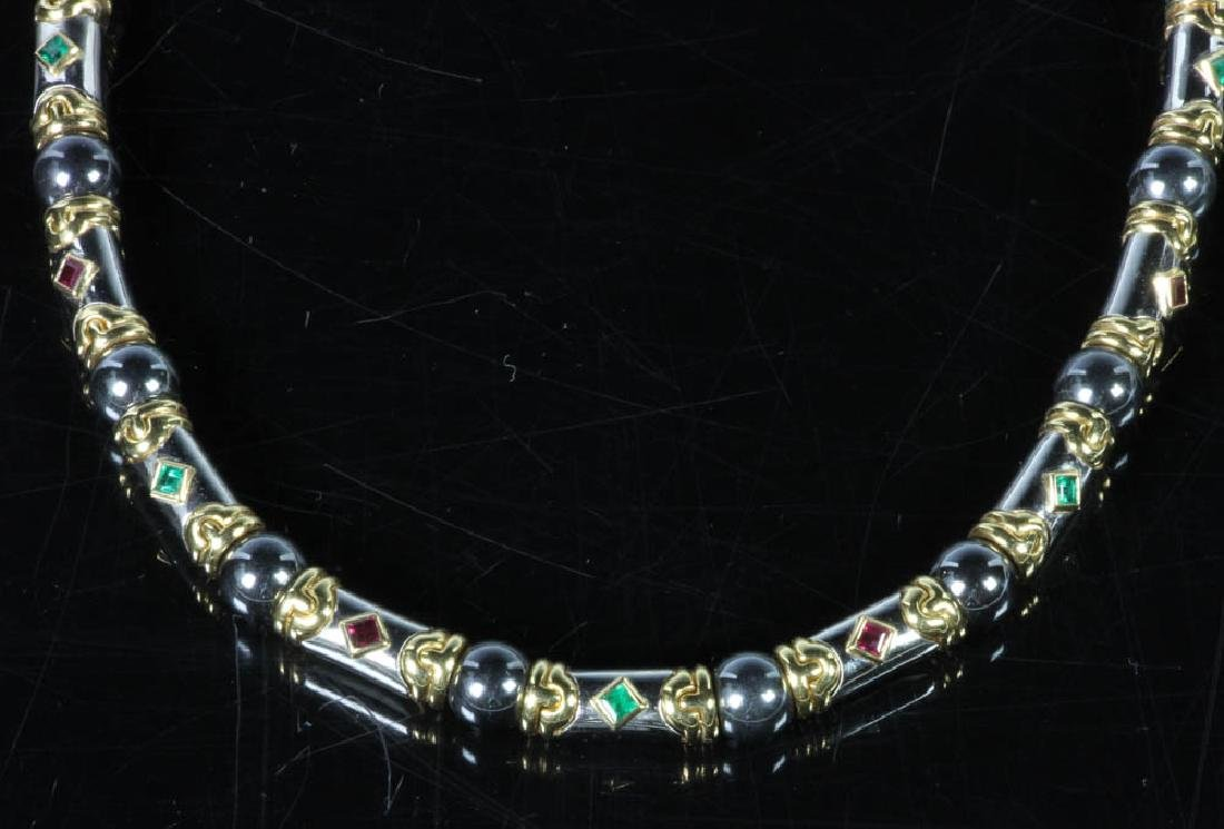 Bulgari 18k Gold Choker Necklace - 2
