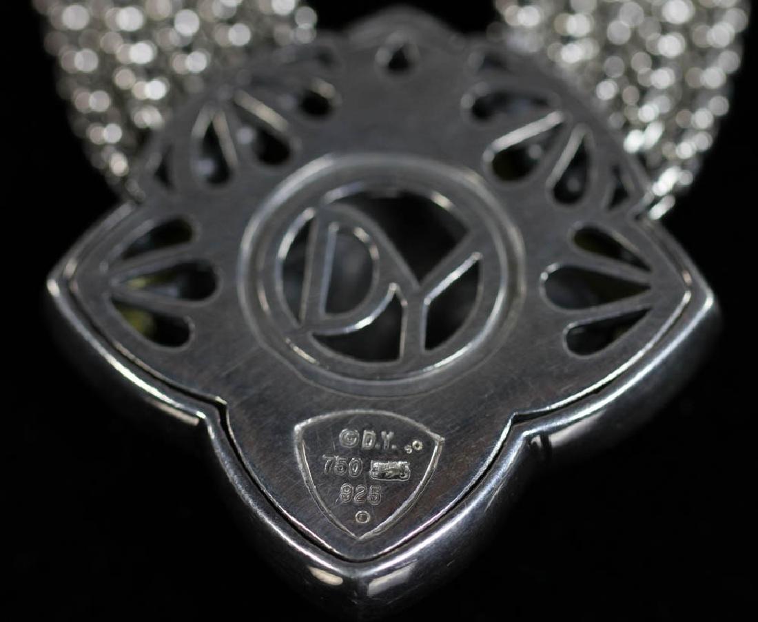 David Yurman Sterling 18k Necklace, Earrings - 3