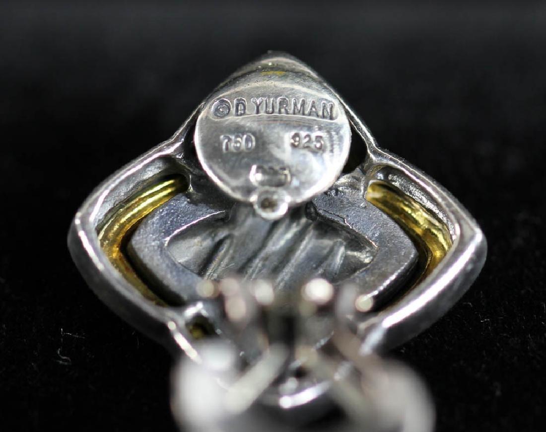 David Yurman Sterling 18k Necklace, Earrings - 5
