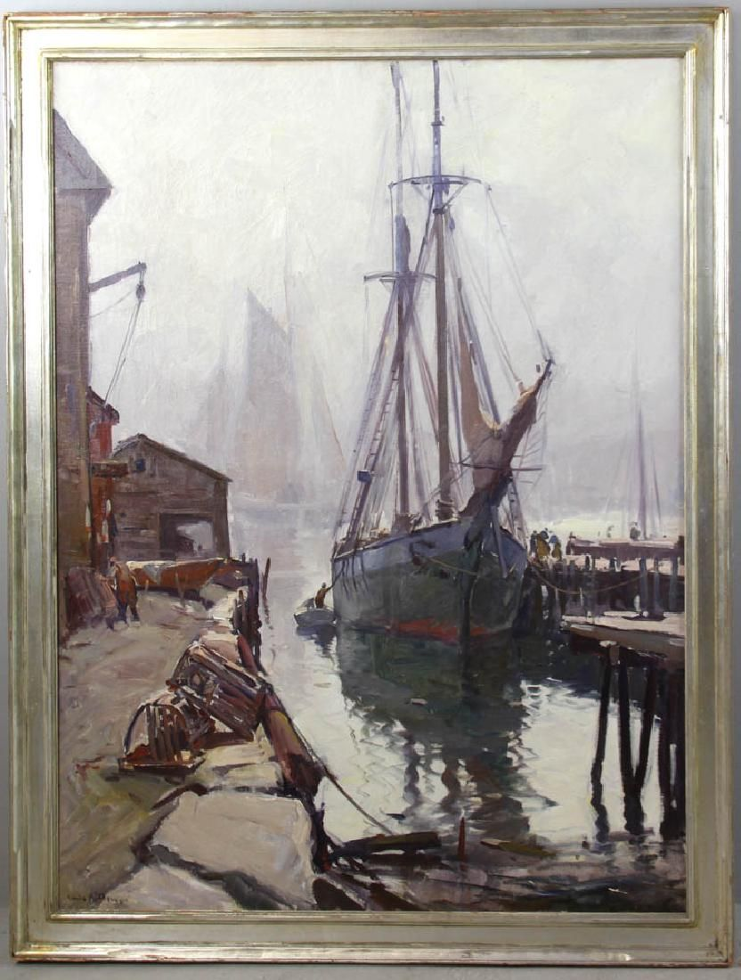 Emile Gruppe The Old Timer Oil on Canvas