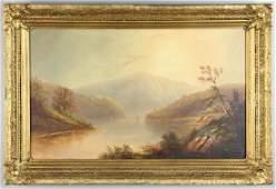William Allen Wall Oil on Canvas