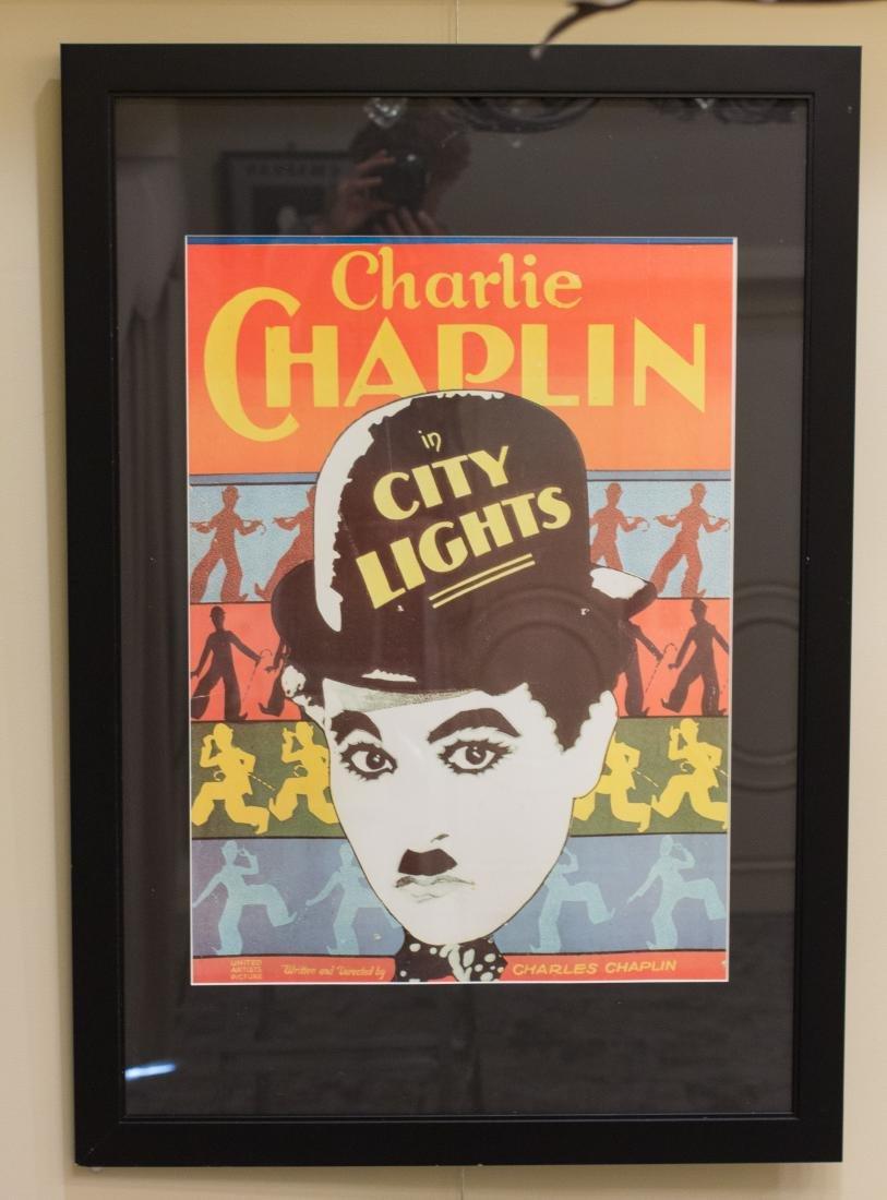 Charlie Chaplin City Lights Movie Poster