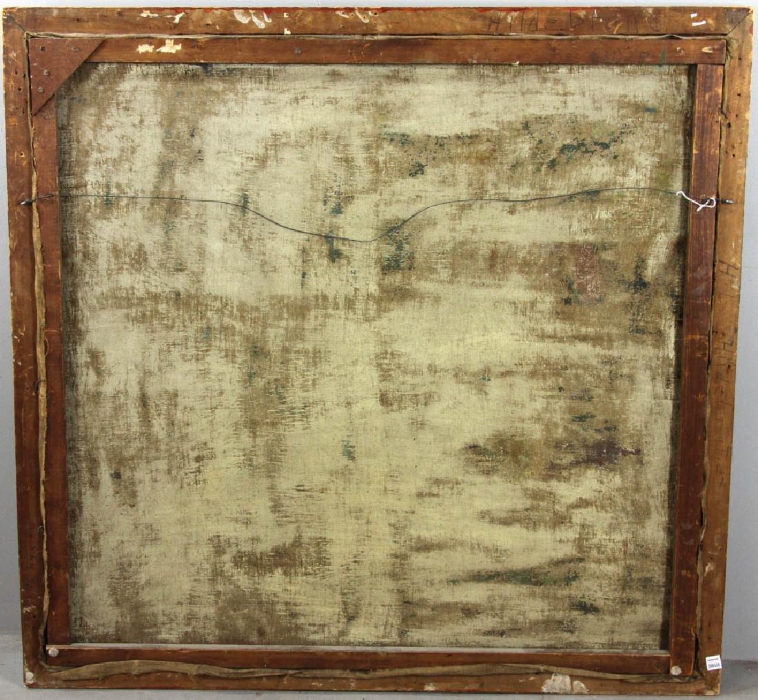 Howard Logan Hildebrandt Signed Oil on Canvas - 7