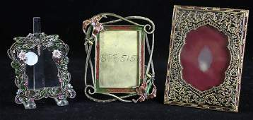 Group of Three Jay Strongwater Frames