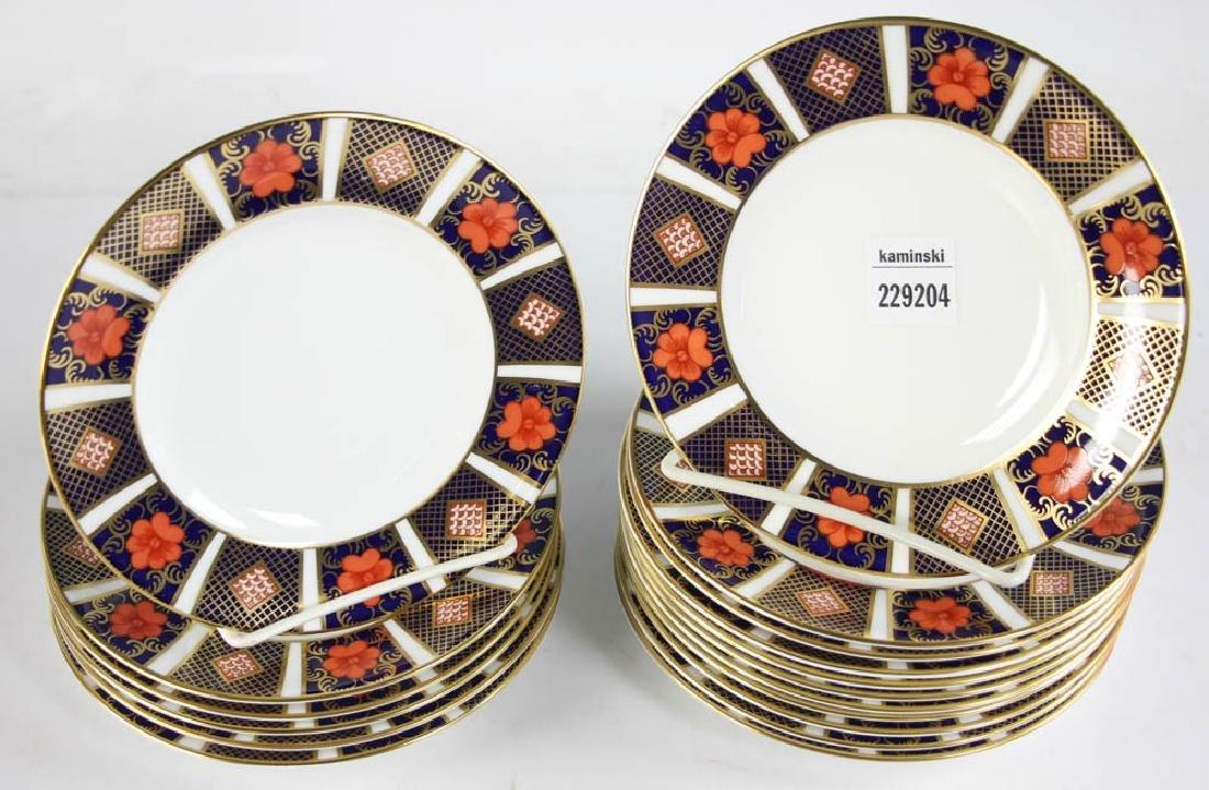 Royal Crown Derby Bone China Plates - 2