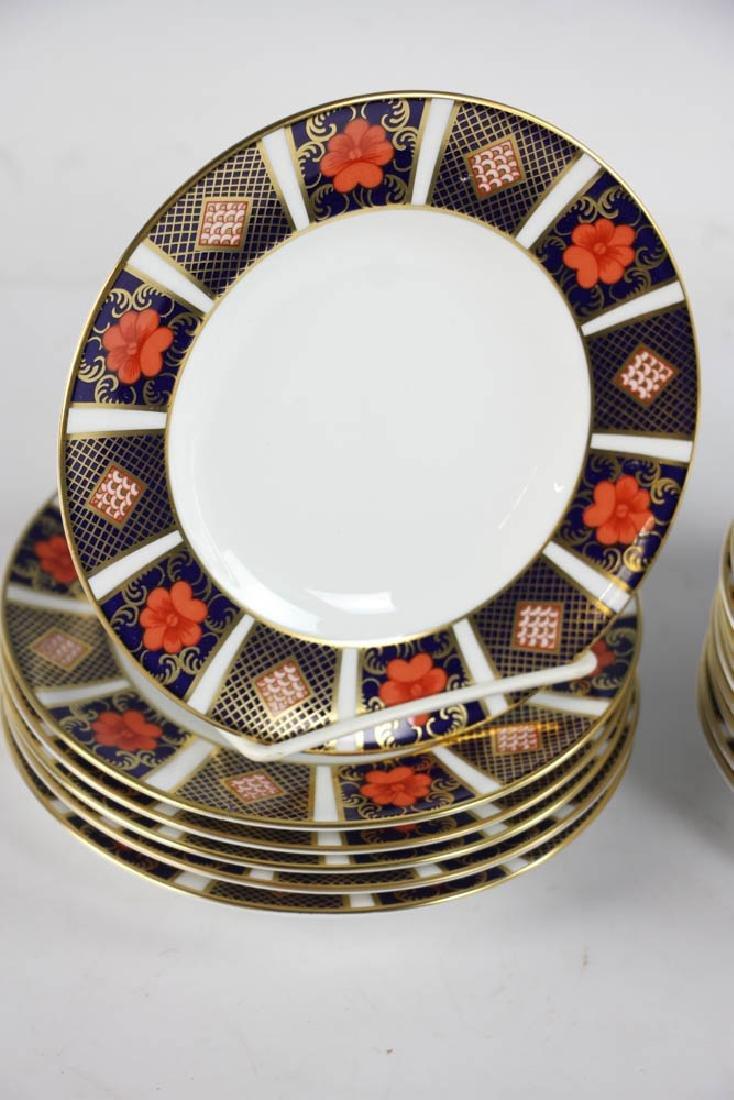 Royal Crown Derby Bone China Plates - 3