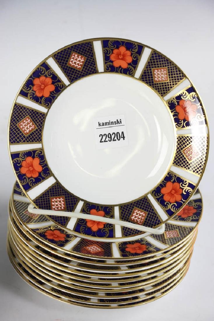 Royal Crown Derby Bone China Plates - 4