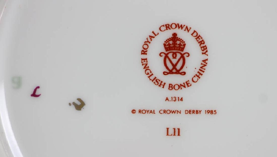 Royal Crown Derby Bone China Plates - 6