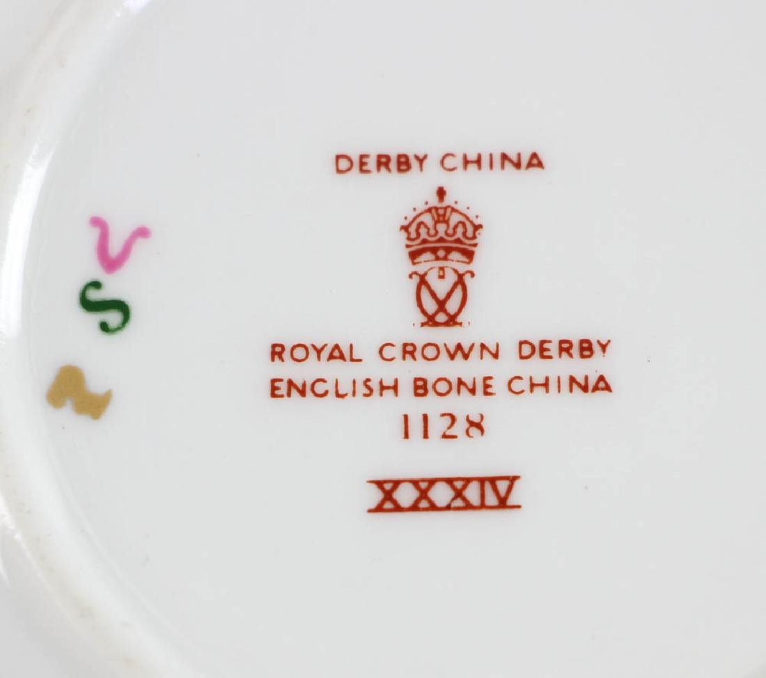 Royal Crown Derby Demi Tasse Cups and Saucers - 5
