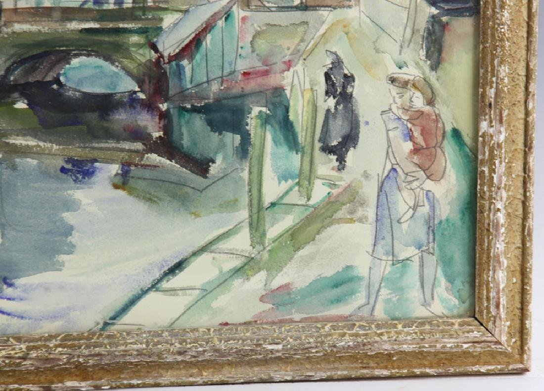 Henri Epstein Watercolor on Paper - 3