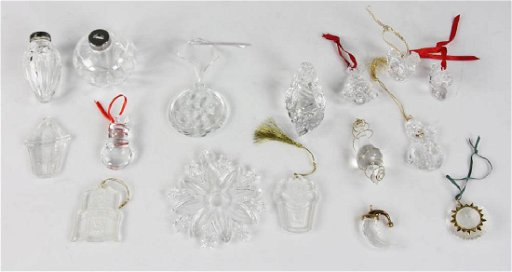 Crystal Christmas Ornaments.Waterford Crystal Christmas Ornaments