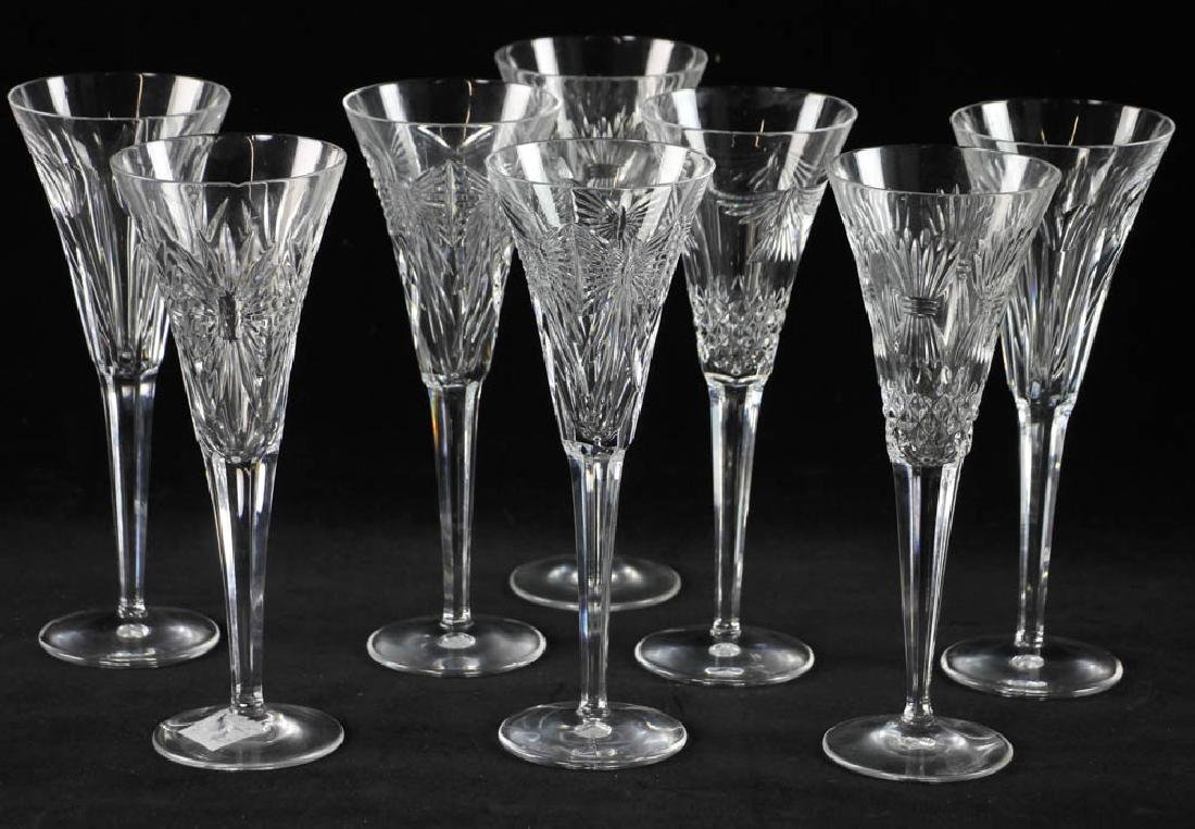 Waterford Crystal Champagne Flutes