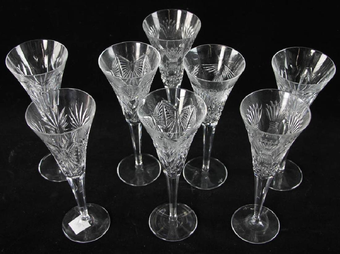 Waterford Crystal Champagne Flutes - 2