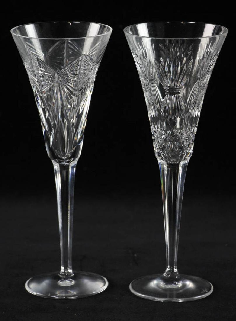 Waterford Crystal Champagne Flutes - 5