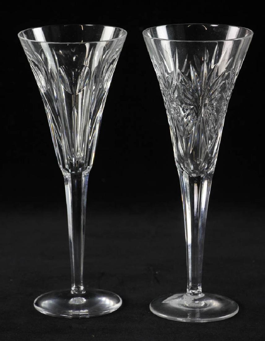Waterford Crystal Champagne Flutes - 6