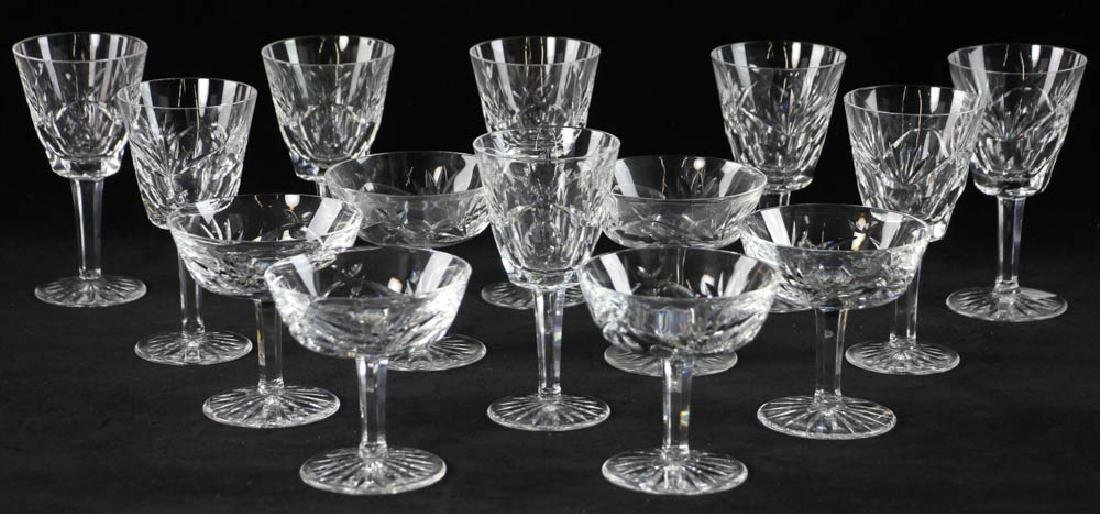 Waterford Crystal Wine Glasses and Sherbets
