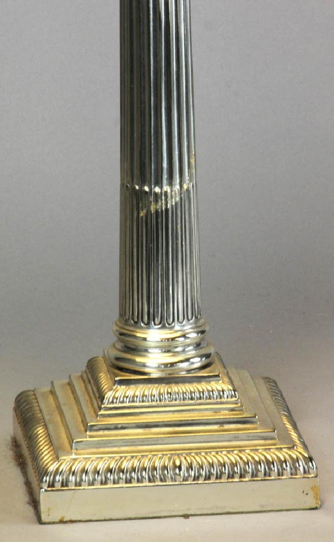 Adam Style Glass Font Table Lamp - 5