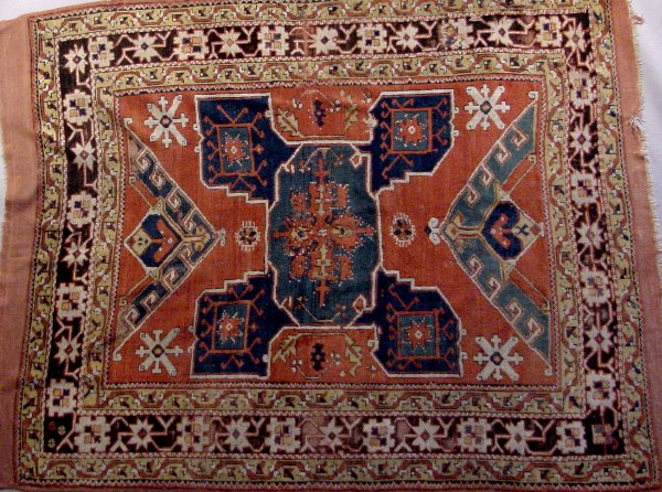 4B: 19TH CENTURY KAZAK RUG