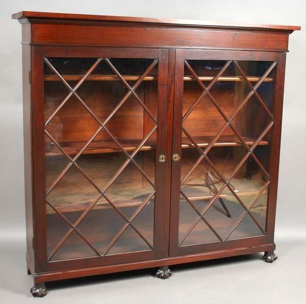 1: Early 20th C. American Mahogany Bookcase