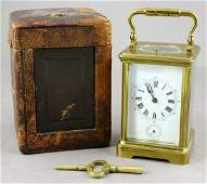 95: Ollier Repeating Carriage Clock, J.E. Caldwell