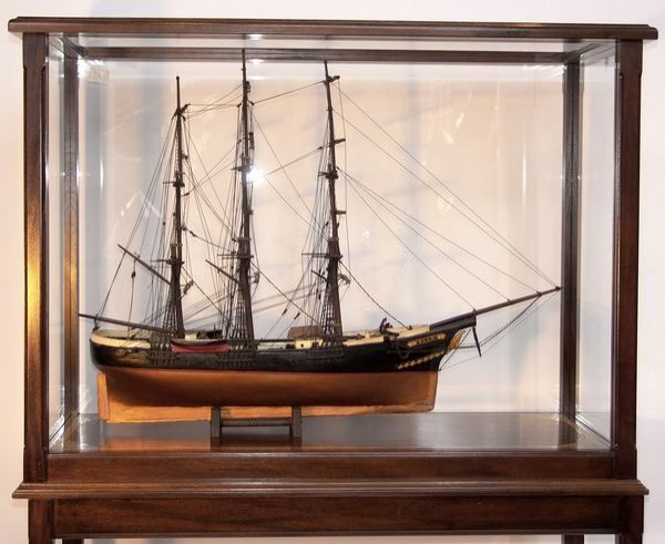 "1012: 19th Century Model of the Windjammer ""Ella"""